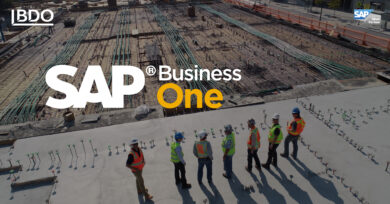 The construction industry is moving the ERP system to SAP Business One